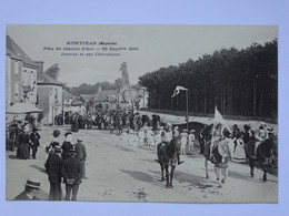 CPA (53) Mayenne - MONTJEAN - Fête De Jeanne D'Arc - 1910 - Jeanne Et Ses Chevaliers - Altri Comuni