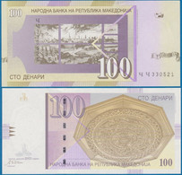 Macedonia 100 Denari 2002 P 16 UNC - Macedonia