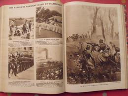 Le Miroir Recueil Reliure 1914 (28 N°). Guerre 14-18 Très Illustrée, Documentée. Zeppelin Avion Soldats - Guerre 1914-18
