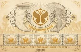 4776**  Tomorrowland** Live Today / Love Tomorrow / Unite Forever / België 2018 (5 Zegels MNH Voor Wereldwijde Zending) - Nuevos