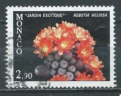 Monaco YT N°1310 Plante Du Jardin Exotique Oblitéré ° - Used Stamps