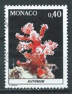 Monaco YT N°1258 Alcyonium Oblitéré ° - Used Stamps