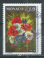 Monaco YT N°1035 Concours International De Bouquets Oblitéré ° - Used Stamps