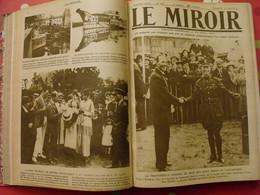 Le Miroir Recueil Reliure 1919-1920 (75 N°). L'après Guerre 14-18 Très Illustrée, Documentée. Russie Bolcheviks - Guerre 1914-18