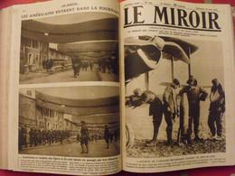 Le Miroir Recueil Reliure 1918 (52 N°). 14-18 Très Illustrée, Documentée. Armistice Russie Bolcheviks - Guerre 1914-18