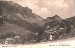 CPA Suisse (Fribourg) Planfayon - Hôtel-Pension Des Bains Du Lac Noir 1907 Plaffeien, Schwarzsee Hotel Bad - FR Fribourg