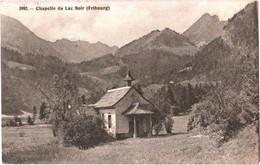 CPA Suisse (Fribourg) Planfayon - Chapelle Du Lac Noir 1912 Plaffeien, Schwarzsee Marienkapelle - FR Fribourg