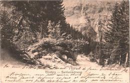 CPA Suisse (Grisons) Klosters - Sardascastrasse TBE Précurseur 1902 éd. Chr. Meisser, à Chur - GR Grisons