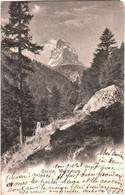 CPA Suisse (Valais) - Le Mont-Cervin Ou Matterhorn TBE Précurseur 1904 Scan Recto-verso, éd. Photosport à Neuchâtel 50 - VS Valais