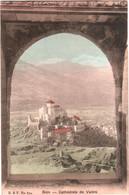 CPA Suisse (Valais) Sion - Cathédrale De Valère TBE Couleur 1907 éd. B. & F, Phot. Franco à Berne - VS Valais