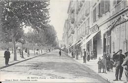 BASTIA -Place St Nicolas (Photo J. Moretti 15, Boulevard St Angelo - Bastia) - Bastia