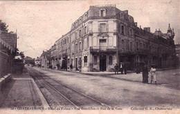 36 - Indre -  CHATEAUROUX -    Hotel Du Faisan - Rue Bourdillon Et Rue De La Gare - Chateauroux
