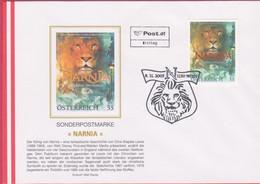 FDC 2005 - Mi 2560 (1) , Walt Disney - Narnia , SST 1150 Wien - FDC