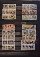 Birds And Butterflies 1964 3 Complete MNH Sets - Sin Clasificación