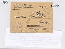 GG: Feldpost Faltbrief Truppen Übungsplatz Galizien, Rawa Ruska - Bezetting 1938-45