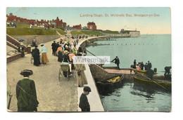 Westgate-on-Sea - Landing Stage, St Mildred's Bay - 1914 Used Kent Postcard - Altri