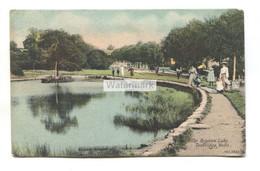 Tunbridge Wells - The Brighton Lake, Women And Children - 1908 Used Postcard, J. Welch No. 1822 - Altri