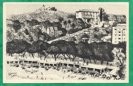 Antibes (06) Juan-Les-Pins Hôtel Beauséjour Parc Saramartel 2scans 20-05-1970 - Juan-les-Pins