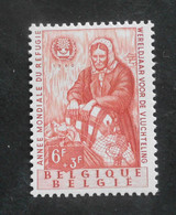 1960 : Cob 1130** (sans Charnière D9) Voir Verso Cot 24 Euros - Ungebraucht
