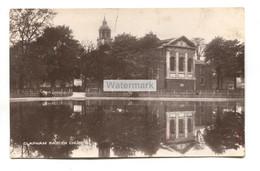 Clapham Parish Church, London - Old Real Photo Postcard - Altri