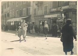 040921A - PHOTO 1936 - 73 ALBERTVILLE En Allant à Grésy Sur Aix - Bière Super Ducale Commerce Journaux Le Matin - Albertville