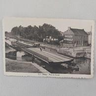Belgique - Mons - Nimy  Pont Canal + Cachet  Du Musée Du Vieux Nimy - Mons