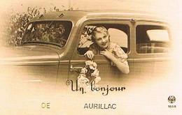 15  UN BONJOUR    DE  AURILLAC    CPM  TBE   803 - Aurillac