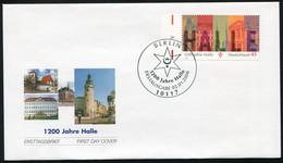 2510 Halle / Saale Auf FDC ESSt Berlin - Ohne Zuordnung