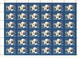 Russia, 2009, Mi. 1611, Sc. 7189, SG 7650, The 50th Anniv. Of The Antarctic Treaty, Flag, MNH - Blokken & Velletjes