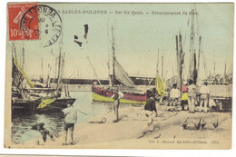 2312 - LES SABLES D'OLONNE - Sur Les Quais - Débarquement Du Thon - Sables D'Olonne