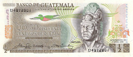 1/2 Quetzal Guatemala 1980 UNC - Guatemala