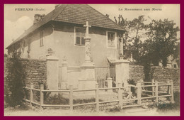 FERTANS - Le Monument Aux Morts - Edit. C. LARDIER - 1922 - Andere Gemeenten
