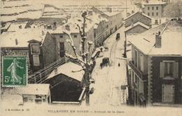 VILLEFORT EN HIVER  Avenue De La Gare RV - Villefort