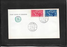 Italia 1962  Europa Cept Fdc , Chieti  Postmark(ref 350e) - FDC