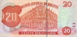 BOLIVIA P. 244 20 R 2016 UNC - Bolivia