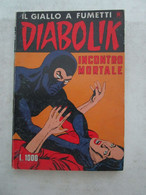 #  DIABOLIK R COSTA BIANCA N 211 / INCONTRO MORTALE  - OTTIMO/ BUONO - Diabolik
