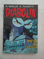 #  DIABOLIK R COSTA BIANCA N 228 / MISTERO AL CASTELLO - OTTIMO/ BUONO - Diabolik
