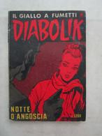 #  DIABOLIK R COSTA BIANCA N 241 / NOTTE D'ANGOSCIA  - OTTIMO/ BUONO - Diabolik