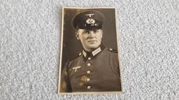 Foto Portrait  Soldat In Uniform Wehrmacht Militär Fotos - 1939-45