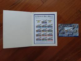 REPUBBLICA - Erinnofili - Folder Con 2 BF Giornate In Banca - Nuovi + Spese Postali - Pochettes
