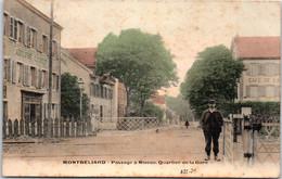 25 MONTBELIARD - Passage à Niveau Quartier De La Gare - Montbéliard