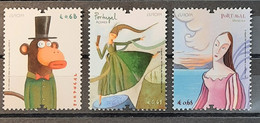2010 - Portugal - MNH As Scan - Europa - Children's Books - Portugal+Azores+Madeira - 1+1+1 Stamps - FACE VALUE - Unused Stamps