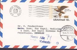 United States Postal Staionery Ganzsache PRIVATE Print UNIVERSITY Of Carolina 1975 Brotype KØBENHAVN K (13). Denmark - 1961-80
