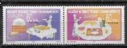 Chypre Turc 2005 N° 573/574 Neufs Europa Gastronomie - 2005