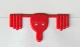 Markclip-paperclip-wingclip-marquer Le Clip-segna Clip: Smile - Sonstige