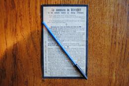 5429/BOVIGNY à Ses Enfants TombésChamp D'Honneur14/18-R.I.P. Augustin/Beaupain/Depierreux/Dewalque... - Décès