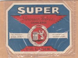 509.CHARLEROI.  SUPER  GRENIER FRERES - Bier