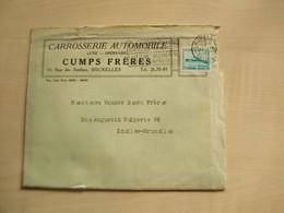 Facture Ancienne    1947 CARROSSERIE CUMPS FRERES MOLENBEEK ST JEAN - Automovilismo