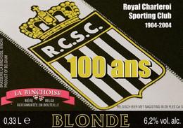 510.CHARLEROI.  100 ANS DU R.C.S.C. - Bier