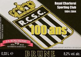 511.CHARLEROI.  100 ANS DU R.C.S.C. - Bier